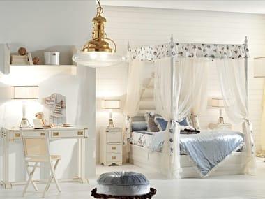 Wooden bedroom set CAMERETTA DELLA PRINCIPESSA