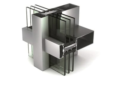 Continuous facade system WICTEC 50 HI