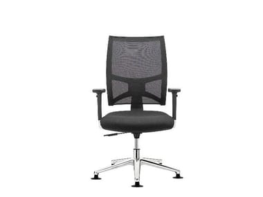 Task chair with 5-Spoke base TEAM AIR | Task chair with armrests