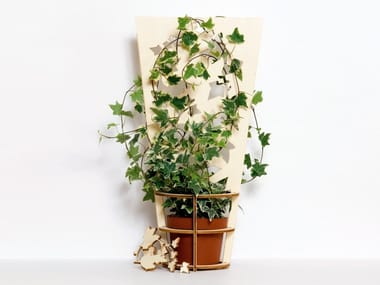 Birch plant pot PLANT SUPPORT