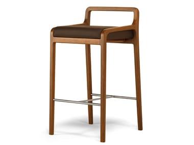 Wooden stool FUJI | Stool