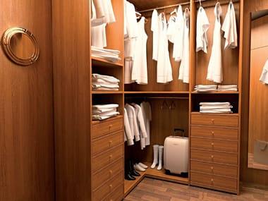 Cabina armadio componibile in legno 700 | Cabina armadio