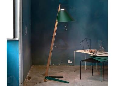 Oak floor lamp BILLY BL