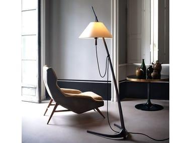 Height-adjustable floor lamp DORNSTAB