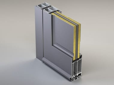 Energy-saving entry door NC 75 STH Porte