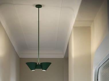 Indirect light metal pendant lamp BILLY DL