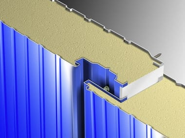 Insulated metal panel for facade STAR