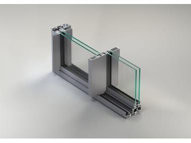 Finestra a taglio termico scorrevole in alluminio NC-S 120 STH Linea Slim