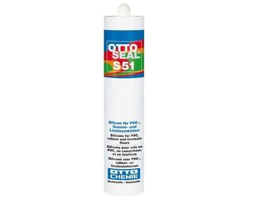 Silicone per pavimenti in PVC, gomma e linoleum. OTTOSEAL® S 51