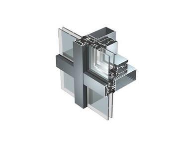 Continuous facade system SL50