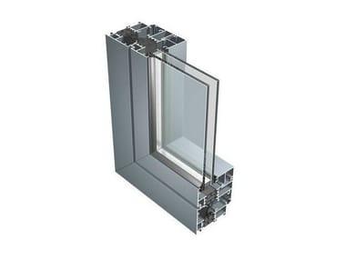 Aluminium thermal break window 67IW