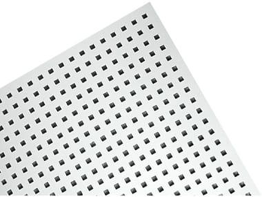 Plasterboard ceiling tiles PLAZA QUADRIL Q1