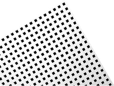 Gypsum ceiling tiles FORATURA QUADRATA - Q