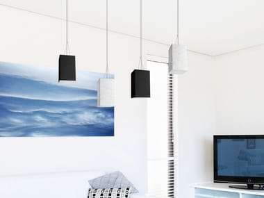 LED cement pendant lamp CEMENTO STYLE 120Q | Pendant lamp