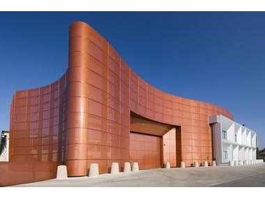 Metal sheet and panel for facade ALUMETAL™