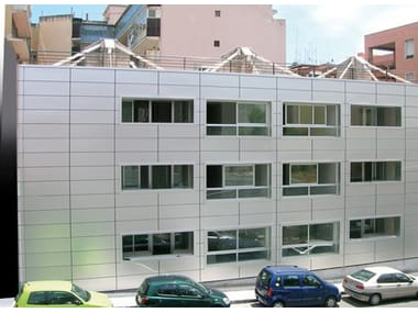 Metal sheet and panel for facade EASYMETAL™