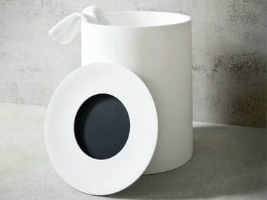 Corian® laundry container HOLE | Laundry container