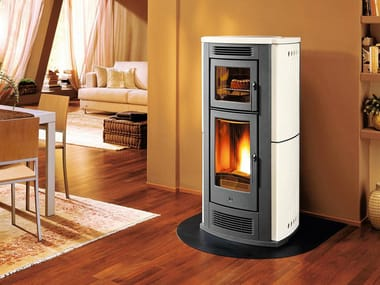 Pellet stove for air heating P960 F | Pellet stove