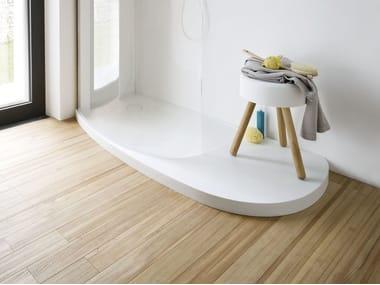 Receveur de Corian® design FONTE | Receveur