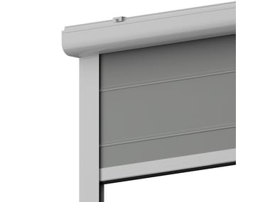 Box roller blind with guide system TORINO 85