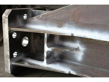 Sistema costruttivo in carpenteria metallica Sistema costruttivo in carpenteria metallica