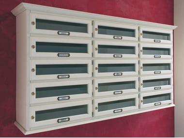 Wooden mailbox CLASSIC HORIZONTAL   Mailbox
