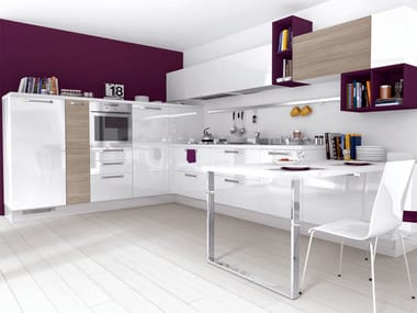 NOEMI | Cuisine avec barre By Cucine Lube design Studio Ferriani
