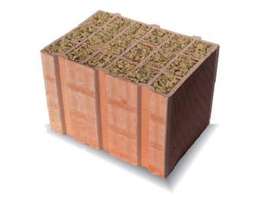 External masonry clay block BLR