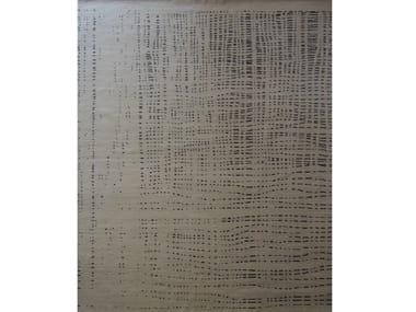 Tappeto fatto a mano rettangolare in lana WIRED