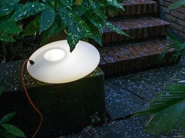 Lampada da terra a LED in polietilene GLOULGLOU POL | Lampada da terra a LED