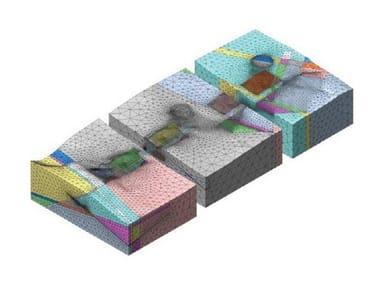 Finite element (FEM) structural resolver DIANA