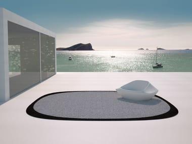 Round outdoor rug UFO | Outdoor rug