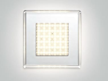 Polycarbonate wall lamp / ceiling lamp QUADRILED | Ceiling lamp