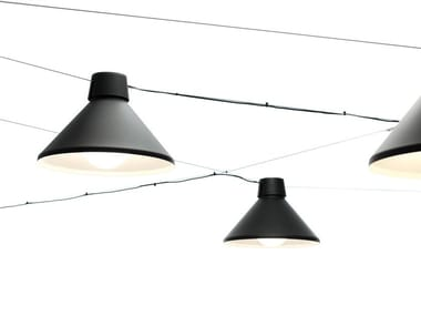 Cable-mounted aluminium pendant lamp DAIKANYAMA | Cable-mounted pendant lamp