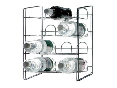 Steel bottle rack CANTINA