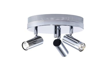 Lampada da soffitto orientabile in metallo PUCK | Lampada da soffitto