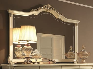 Classic style wall-mounted framed mirror TIZIANO | Mirror