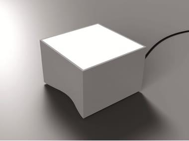 Segnapasso a LED a pavimento in DurCoral® per esterni VALO