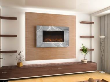 Electric wall-mounted fireplace ASHWELL