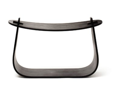 Low oak stool HARRY