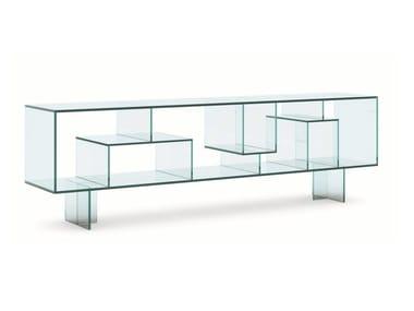 Madia bifacciale in vetro LIBER M