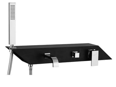 Mitigeur de baignoire mural avec douchette PLP - FPLP010B3