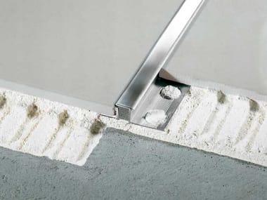 Stainless steel Flooring joint NOVOJUNTA® DECOR ST. STEEL