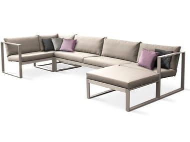 Modular fabric sofa MODULAR LOUNGE | Modular sofa