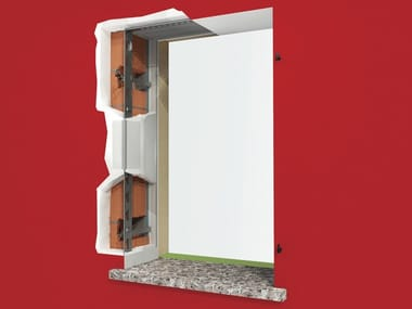 Anchorage system for shutters AMIKO® + C1