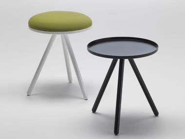 Steel stool / coffee table BOLLE