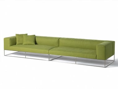 Sofa with removable cover ILE CLUB | Sofa