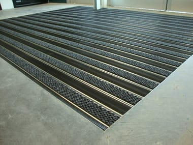 Extruded aluminium Technical mat TECNOMAT K5 23 MM