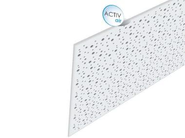 Pannelli per controsoffitto acustico in cartongesso Rigitone™ Activ'Air® 8-15-20
