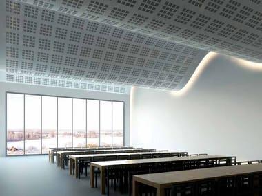 Ceiling tiles GYPTONE® BIG CURVE